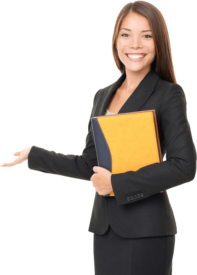 Woman real estate agent